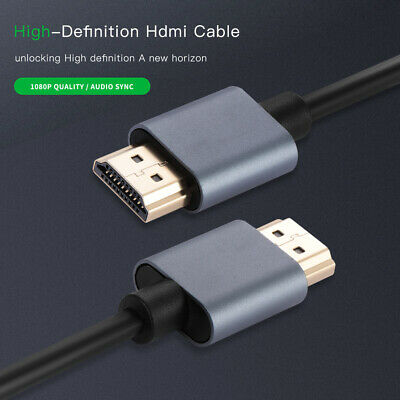 HDMI Cable V2.0 3D 1080P Ethernet 4K 60Hz- HDTV LCD LED PS4 0.5m 1m 1.5m 2m
