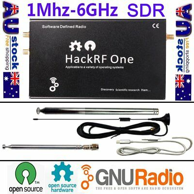 HackRF One 1MHz to 6GHz Software Defined Radio Platform Development Board SDR AU