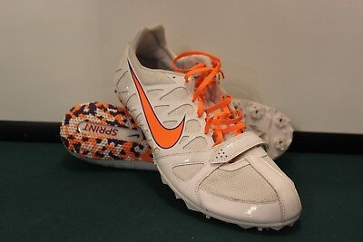 check out 0a8fb 58907 Men s Nike Zoom Rival S 6, Track   Field Shoes, White Orange