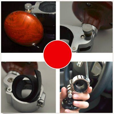 Auto Car Power Steering Wheel Ball Suicide Spinner Handle Knob Booster Retro UT