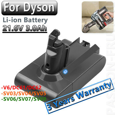 3.0Ah Battery For Dyson DC12 DC16 Root 6 DC31 DC34 DC58 DC62 SV06 SV07 BC683 CA