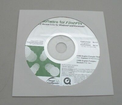 Genuine New Fujifilm Software Cd For Finepix Cz Version 5.5 For Windows & Mac