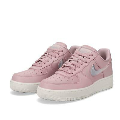 new concept a7916 3d66f Nike Wmns Air Force 1 07 SE PRM AF1 Plum Chalk Women Casual Shoes AH6827-
