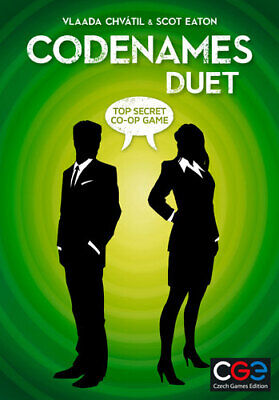 Codenames - Duet - Top Secret Co-operative Game