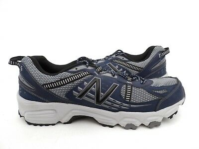 New Balance Men s MT410V4 Trail-Running Shoe Grey Blue Size 13 3d97c4a873