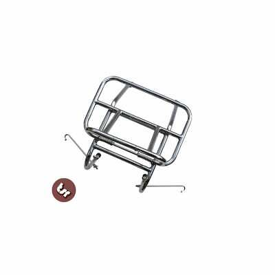 FLASH SALE VESPA PX/Lambretta Stainless Steel Front Luggage Rack Carrier 125/200