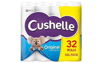 Cushelle Toilet Paper 2 Ply 32 Rolls of 180 Sheets
