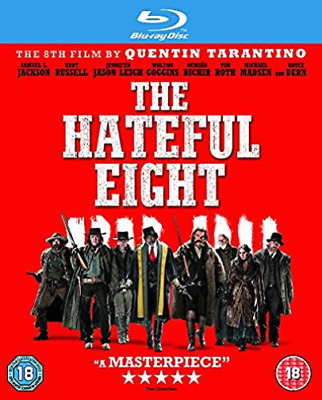 The Hateful Eight (UK IMPORT) DVD NEW