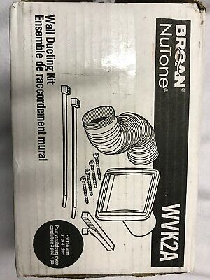 BROAN WVK2A WALL Vent Ducting Kit For Kitchen or Bath Fans ...