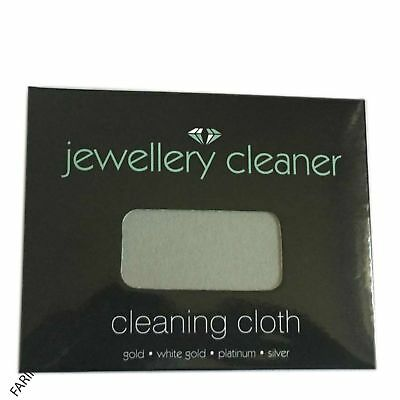 Jewellery cleaner cloth -solution- kit cleaning White Gold, Silver all jewels