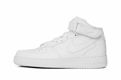 new product 01ec7 2c65d Scarpe NIKE Sneakers Air Force 1 Mid 07 Uomo Bianco 315123-111 SPORTIVE  NUOVO 43