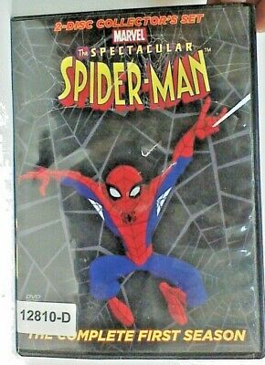 DVD TV Show THE SPECTACULAR SPIDER-MAN Animated Complete Season 1            02