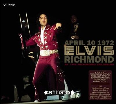 ELVIS PRESLEY - APRIL 10 1972 RICHMOND  -  Victrola Label