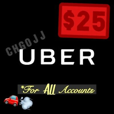 $25 In Uber Codes (5 x $5 Off a Ride) Good For ALL Riders!!!