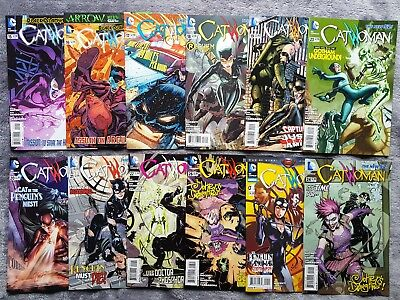 CATWOMAN (vol 4) 15-26 & Annual Complete 1st Joker's Daughter #23 DC New 52 Set