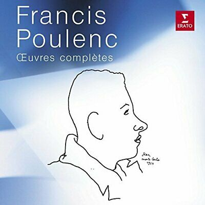 Francis Poulenc: Oeuvres Completes (UK IMPORT) CD NEW