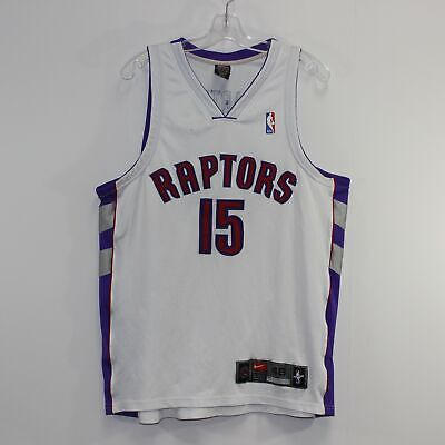 ccc7ee186 AUTHENTIC TORONTO RAPTORS Vince Carter Throwback Basketball Jersey ...