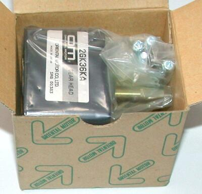 ORIENTAL MOTOR GEAR HEAD 2GN15KA with Motor for price of Gear Box Alone