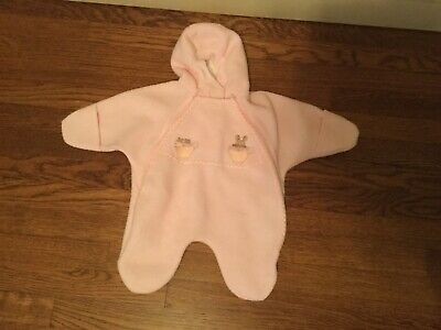 NEW INFANT THERMOBALL™ BUNTING WINTER PLUSH AND SOFT CRX9 CHA CHA PINK