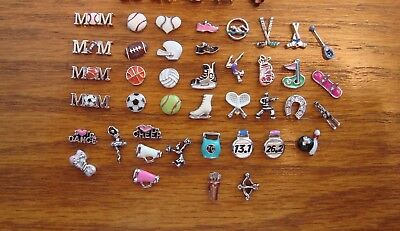 """Authentic Origami Owl """"Your Choice"""" of Sports/Activities/Game Charms (#12)+?A"""