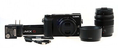 Panasonic Lumix GX85 16MP Mirrorless Digital Camera w/ 12-32mm & 45-150mm Lenses