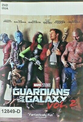 DVD GUARDIANS OF THE GALAXY - Vol 2 - Chris Pratt in Original Jacket FS. 10