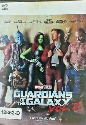 DVD GUARDIANS OF THE GALAXY Vol 2 - Chris Pratt in Original Jacket FS. 10