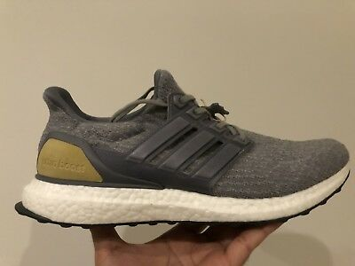 sports shoes 8b983 844fb adidas Ultra Boost 3.0 LTD LUXURY Leather Cage GreySuede Uk 9 EU 43 1 3