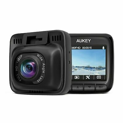 AUKEY Dash Cam Full HD 1080P Car Camera 6-Lane 170 Wide Angle Supercapacitor