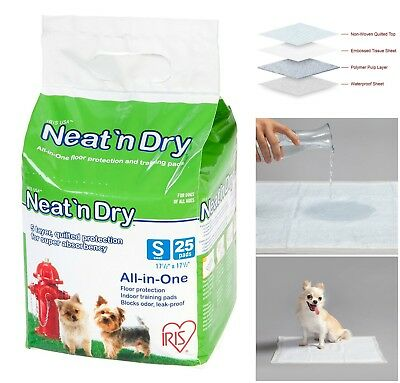 Pet Pee Small Training Pads Leak Proof Dog Puppy Odor Blocking Floor Protection