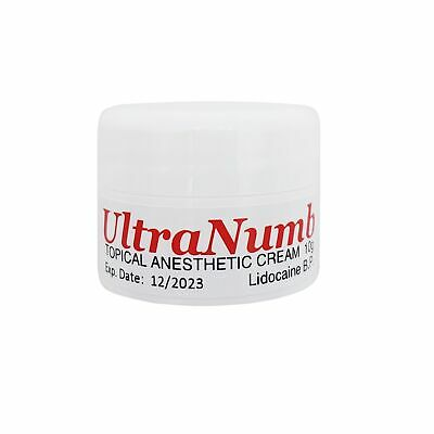 10G ULTRA NUMB® Numbing Cream Painless Tattoo Body Piercing Waxing ...