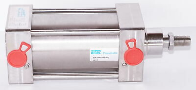 Airtec CX-100-0100-000 Stainless Steel Double Acting Cylinder 100x100 marine