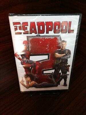 Deadpool 2 (DVD,2018)Brand NEW(Sealed)Free Shipping with Tracking
