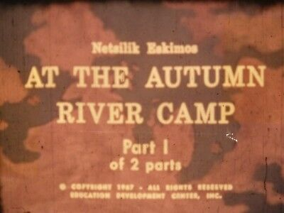 At The Autumn River Camp Part 1  1969 16mm short film