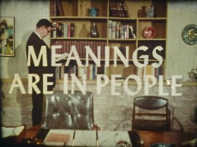 Meanings Are In People 1965 16mm short film