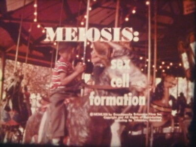 Meiosis Sex Cell Formation 16mm short film 1963