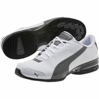 23b7af43511d73 PUMA SUPER ELEVATE Mens White Synthetic Athletic Lace Up Running ...