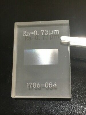 Ra 0.73 um 28.7 uinch Roughness Standard Block for Roughness Tester Profilometer