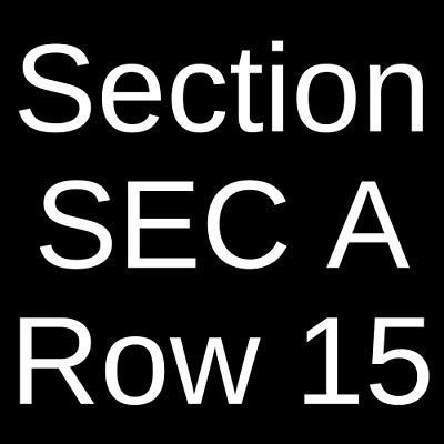 2 Tickets Why Don't We 4/18/19 Seattle, WA