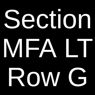 2 Tickets Mott The Hoople '74 4/5/19 The Fillmore - Detroit Detroit, MI
