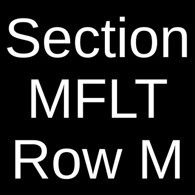 2 Tickets Needtobreathe 4/29/19 Michigan Theater - Ann Arbor Ann Arbor, MI