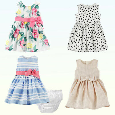 b235ffb0d NWT CARTER'S BABY Girls Dress & Bloomers