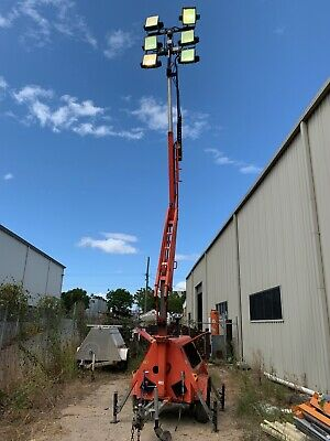 Allight Nightshifter NS6000 Towable Diesel Light Tower - 5168hrs - 9.5m
