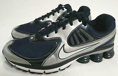 82493a5fe29 Nike Shox Qualify Men s Running Shoes Blue   Gray Size 10 396659-400 2010