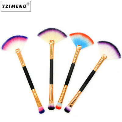 Fashion Make Up Foundation Eyebrow Eyeliner Blush Cosmetic Concealer Brushes Set