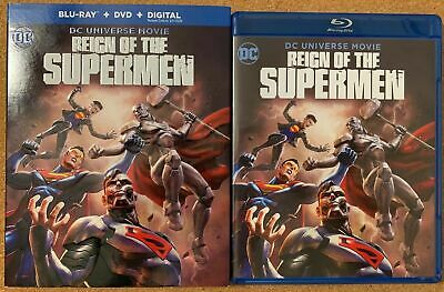 Dc Reign Of The Supermen Blu Ray Dvd 2 Disc Set + Slipcover Sleeve Buy It Now