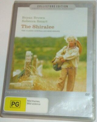 The Shiralee - Bryan Brown Rebecca Smart R4 Aus Miniseries DVD - posted