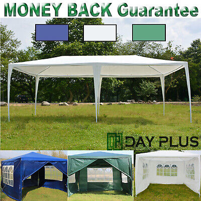 Gazebo New Strong Waterproof Outdoor PE Garden Gazebo Marquee Canopy Party Tent