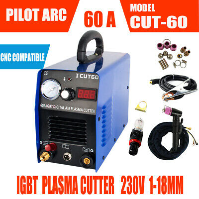 IGBT Pilot Arc Air Plasma Cutting Machine 60A 230V & WSD60P  -CNC Compatible