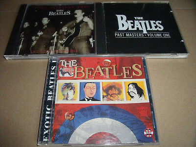 3 CD Alben von The Beatles - Exotica + Past Masters Vol. One + The Legend Begins